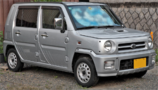 Daihatsu Naked Alloy Wheels and Tyre Packages.