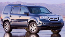Honda Pilot Alloy Wheels and Tyre Packages.