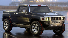 Hummer H3T Alloy Wheels and Tyre Packages.
