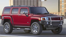 Hummer H3X Alloy Wheels and Tyre Packages.