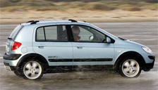 Hyundai Getz Cross Alloy Wheels and Tyre Packages.