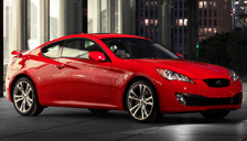 Hyundai Genesis Coupe Alloy Wheels and Tyre Packages.