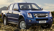 Isuzu KB Double Cab Alloy Wheels and Tyre Packages.