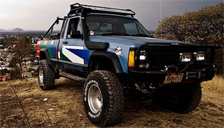 Jeep Comanche Alloy Wheels and Tyre Packages.