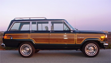 Jeep Grand Wagoneer Alloy Wheels and Tyre Packages.
