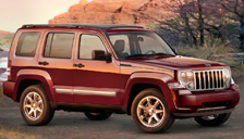 Jeep Liberty Alloy Wheels and Tyre Packages.