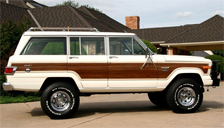 Jeep Wagoneer Alloy Wheels and Tyre Packages.