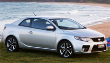 Kia Cerato Koup Alloy Wheels and Tyre Packages.