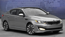 Kia Optima Alloy Wheels and Tyre Packages.