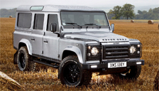 Land Rover Defender Alloy Wheels and Tyre Packages.