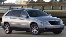Chrysler Pacifica Alloy Wheels and Tyre Packages.