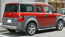 Honda Element Alloy Wheels and Tyre Packages.