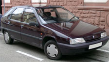 Citroen ZX Alloy Wheels and Tyre Packages.