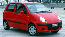 Daewoo Matiz Alloy Wheels and Tyre Packages.