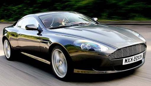 Aston Martin DB9 Alloy Wheels and Tyre Packages.