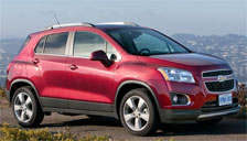 Chevrolet Trax Alloy Wheels and Tyre Packages.