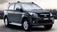 Daihatsu Terios Alloy Wheels and Tyre Packages.