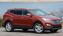 Hyundai Santa Fe Alloy Wheels and Tyre Packages.