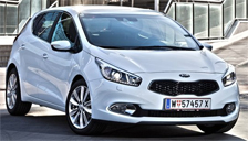 Kia Cee D Alloy Wheels and Tyre Packages.