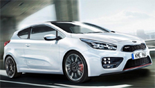 Kia Pro Cee D Alloy Wheels and Tyre Packages.