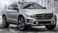 Mercedes GLA Alloy Wheels and Tyre Packages.