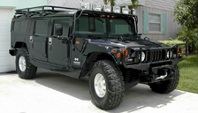 Hummer H1 Alloy Wheels and Tyre Packages.