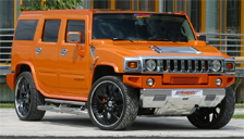 Hummer H2 Alloy Wheels and Tyre Packages.