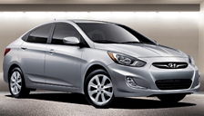 Hyundai Accent Alloy Wheels and Tyre Packages.