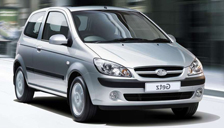 Hyundai Getz Alloy Wheels and Tyre Packages.