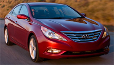 Hyundai Sonata Alloy Wheels and Tyre Packages.