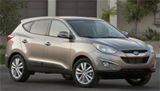Hyundai Tucson Alloy Wheels and Tyre Packages.