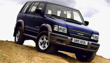 Isuzu Trooper Alloy Wheels and Tyre Packages.