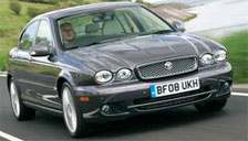Jaguar X Type Alloy Wheels and Tyre Packages.