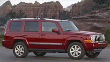 Jeep Commander Alloy Wheels and Tyre Packages.