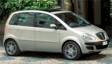 Lancia Musa Alloy Wheels and Tyre Packages.