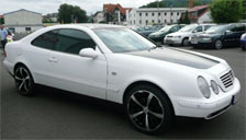 Mercedes CLK Class Alloy Wheels and Tyre Packages.