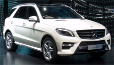Mercedes M Class ML V8 Alloy Wheels and Tyre Packages.