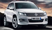 Volkswagen Tiguan Alloy Wheels and Tyre Packages.