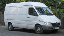 Mercedes Sprinter Alloy Wheels and Tyre Packages.