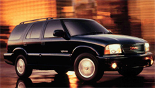 Envoy 1998 to 2000 (1st Generation) Alloy Wheels and Tyre Packages.