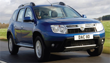 Dacia Duster Alloy Wheels and Tyre Packages.