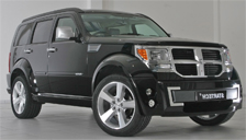 Dodge Nitro Alloy Wheels and Tyre Packages.