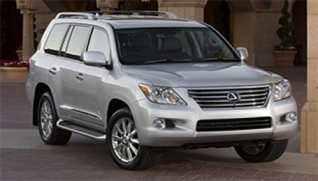 Lexus LX 570 Alloy Wheels and Tyre Packages.