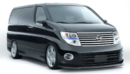 Nissan Elgrand Alloy Wheels and Tyre Packages.