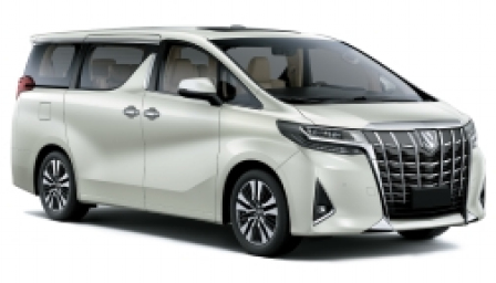 Toyota Alphard Alloy Wheels