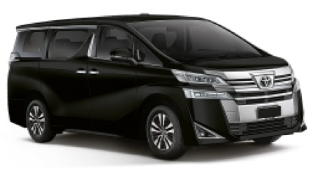 Toyota Vellfire Alloy Wheels