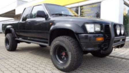Volkswagen Taro 4x4 Pick Up Alloy Wheels and Tyre Packages.