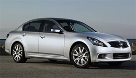 Infiniti G25 Alloy Wheels and Tyre Packages.