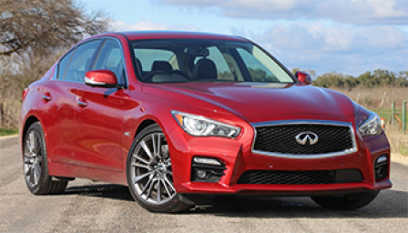 Infiniti Q50 Alloy Wheels and Tyre Packages.