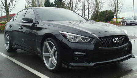 Infiniti Q50 Sport Alloy Wheels and Tyre Packages.